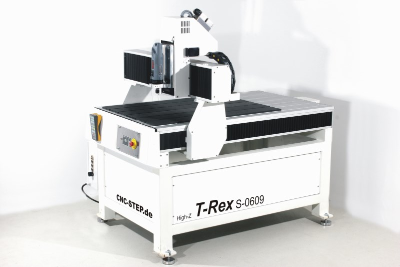 CNC freesmachine T-Rex 1224: zwaar stalen frame