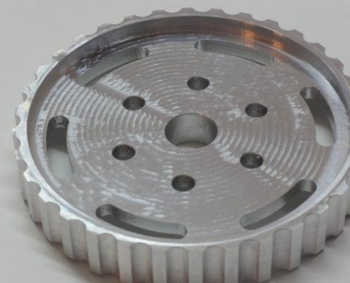 Aluminium nokkenastandwiel
