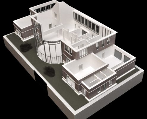 Architectonisch model (exterieur en interieur)