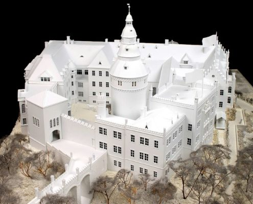 Architectuur modelbouw / ruimtelijke planning
