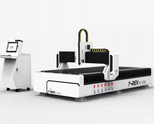 T-Rex-1530 CNC portaalfreesmachine met stappenmotor-aandrijving