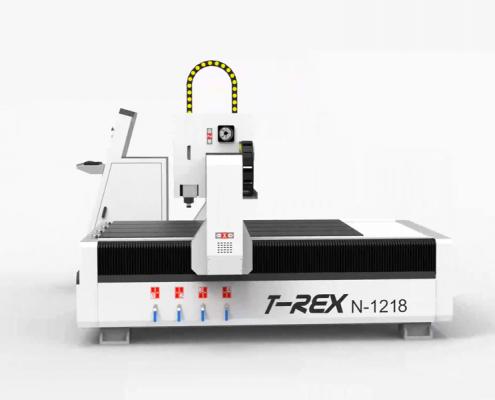 T-Rex-1218 portaalfrees met stappenmotor-aandrijving
