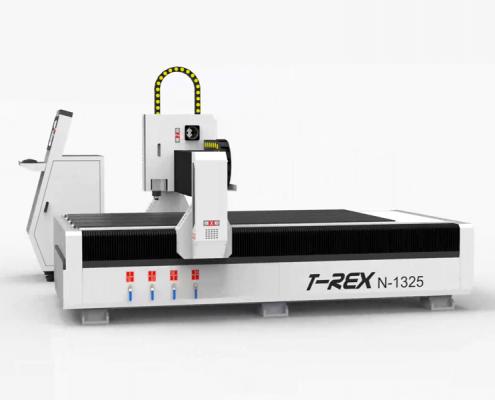 CNC portaalfreesmachine T-Rex N 1325 zijaanzicht