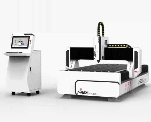 CNC portaalfreesmachine T-Rex N 1325 met bedieningsterminal