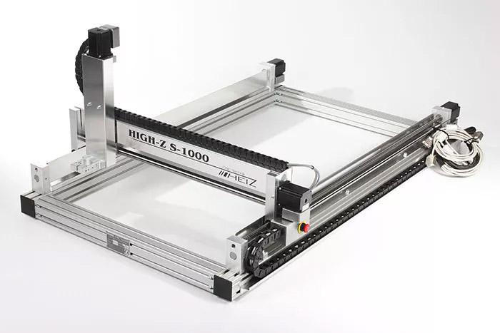 CNC-graveermachine High-Z S-1000 voorzijde