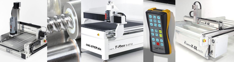 CNC MACHINES VAN CNC-STEP