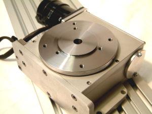 Vierde as / draaitafel voor CNC machines