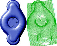 ConstruCAM 3D CNC frezen