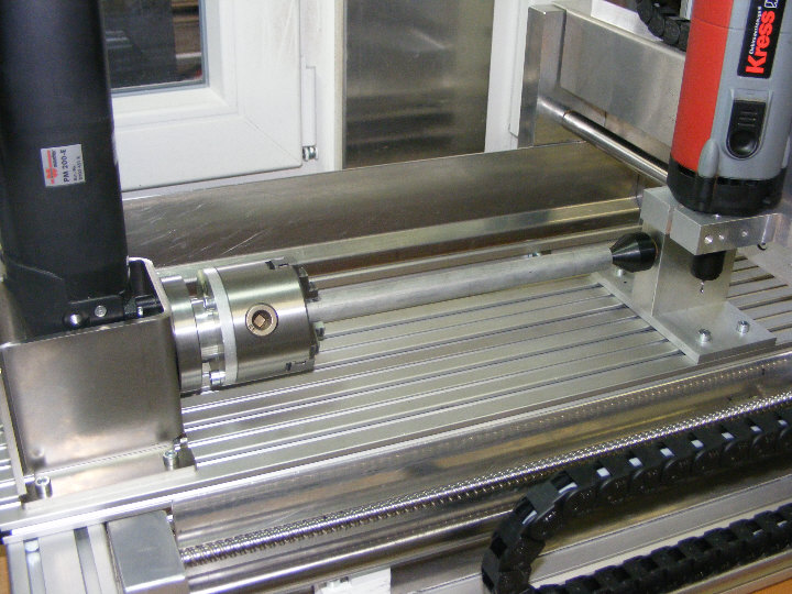 Complete draaibank-kit voor de CNC machine