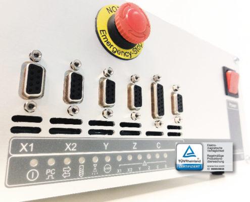 5-kanaals CNC besturing
