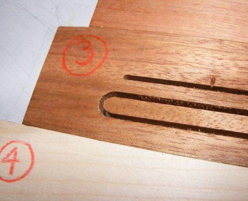 2D frezen in hout