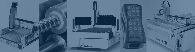 CNC Machines in alle soorten en maten