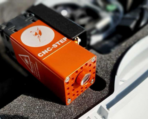 Compacte 5.5 Watt laser om mee te graveren en snijden