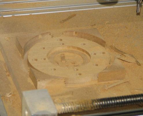 CNC Formenbau MDF Form