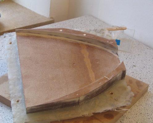 Matrijzen voor modelbouw, gemaakt van MDF