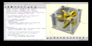 OpenSCAD gratis 3D software