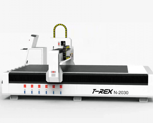 CNC-STEP T-Rex N 2030 met stappenmotor-aandrijving