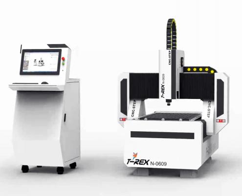 CNC-Step T-Rex 0609 Portaalfrees met stappenmotoren