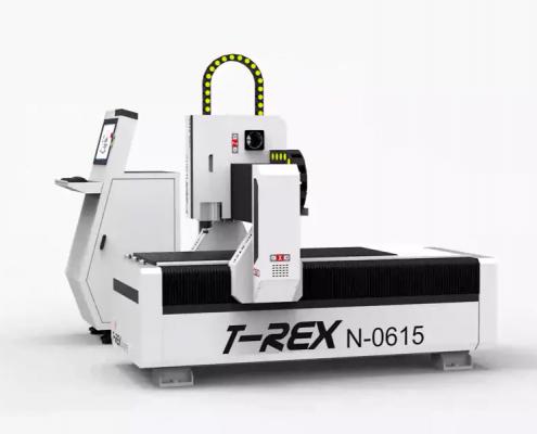 Compacte portaalfreesmachine T-Rex 0615