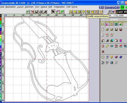 CAD CAM Software ConstruCAM-3D