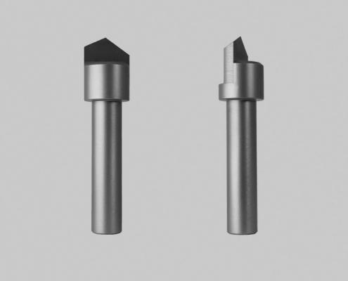 V-groeffrees D15mm 130 graden