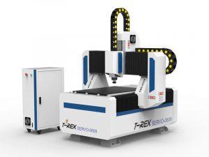 CNC-freesmachine met servo-aandrijving T-Rex Servo-0609