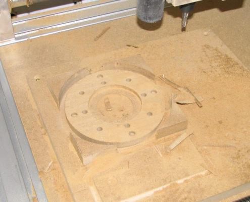 CNC Formenbau mit MDF Platten