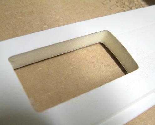 Aluminium sandwichplaat frezen