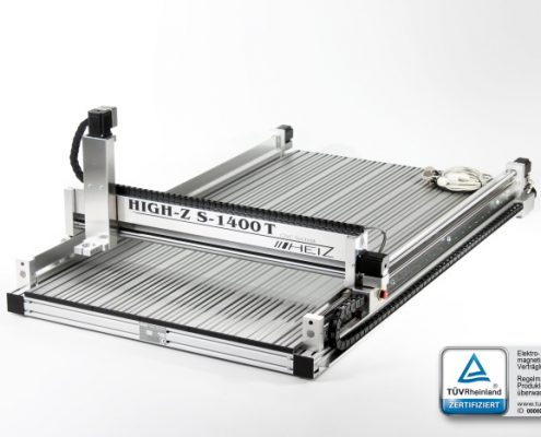 CNC frees High-Z S-1400/T