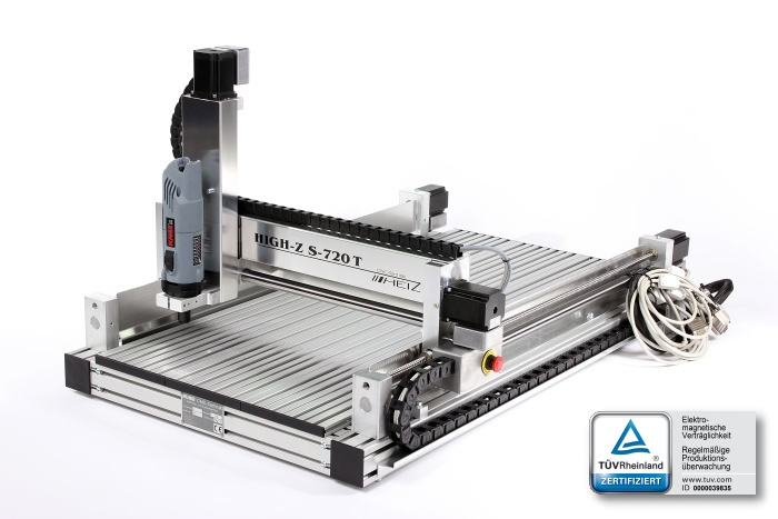 CNC frees High-Z S-720/T
