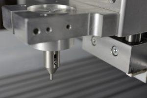 CNC houder voor diamant graveerstift