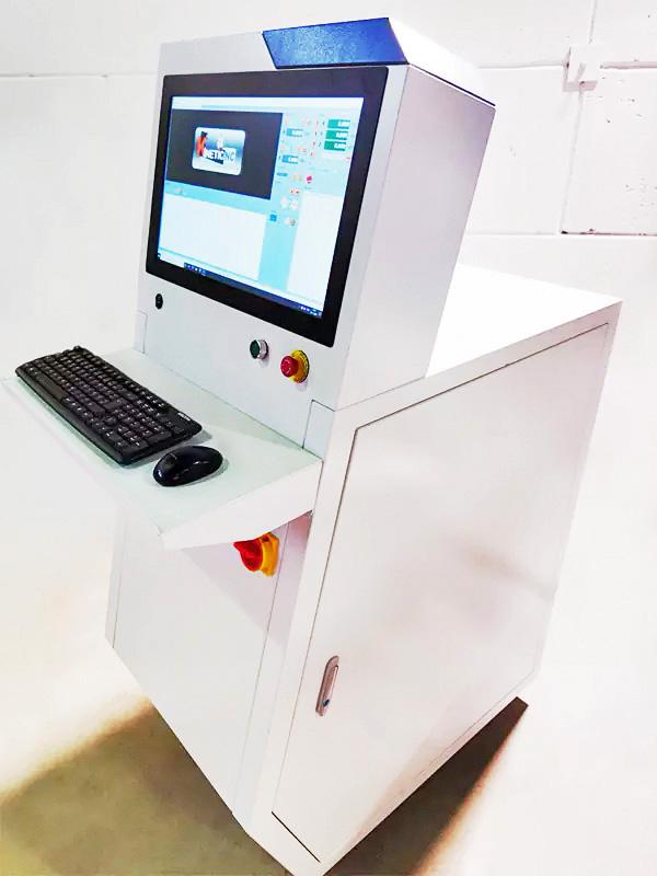 Controller-PC met ergonomisch bedieningspaneel