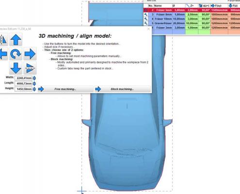 3D-model bewerken in ESTLCAM