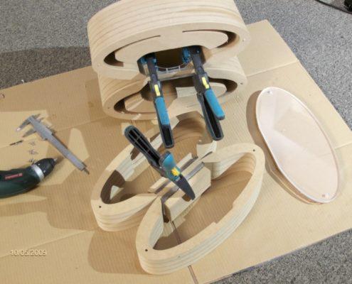 MDF Boxenbau aus Platten - verleimen