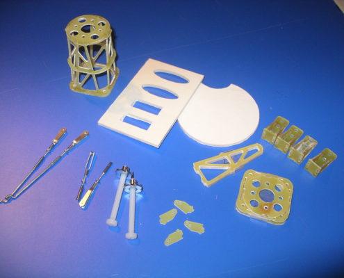 Kleine modelbouw componenten