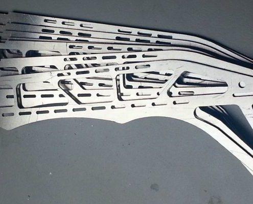 Aluminium onderdelen voor een multicopter