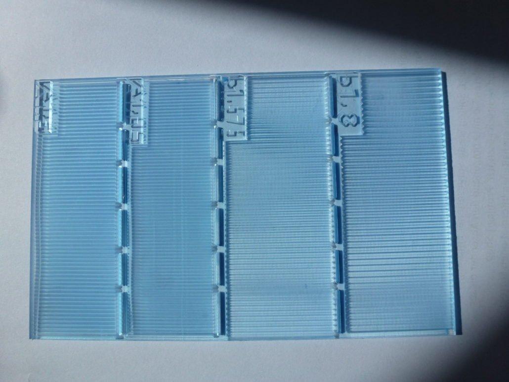 Plexiglas graveren voor de medicijntechniek
