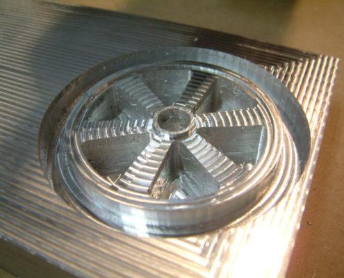 Aluminium wiel frezen
