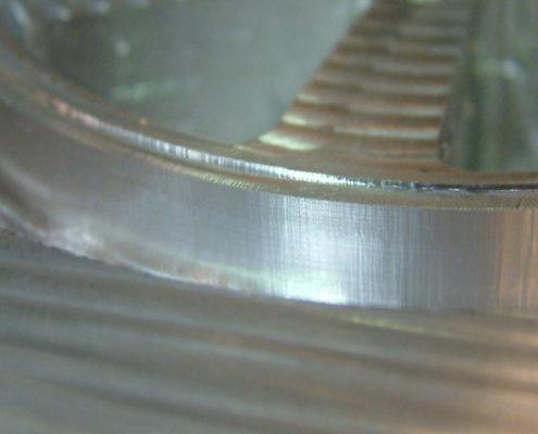 Aluminium wiel: glad nafrezen