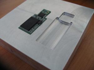 Spuitgietvorm voor een USB-stick