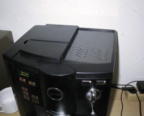 Een fraaie klep voor een espressomachine