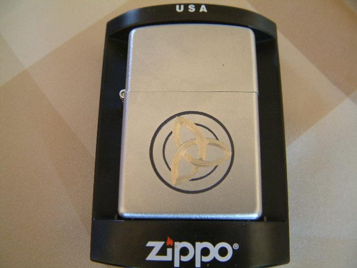 Zippo aansteker met gravering